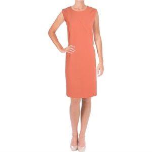 Hugo Boss Demlsana Sleeveless Sheath Dress